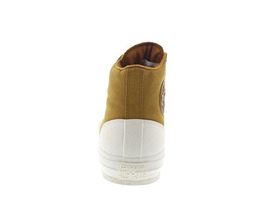 AS Salut cuir Converse Chucks 139820C Hiker2 Lea Pomme Brown Prime Chuck Antiqued Egret