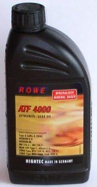 ROWE de transmission ATF 4000, pour transmission automatique et de direction assistée, minéral, 1L