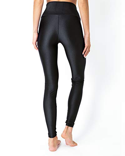 Savoy Active Nova Glam Body Sculpting Leggings - Black - 5