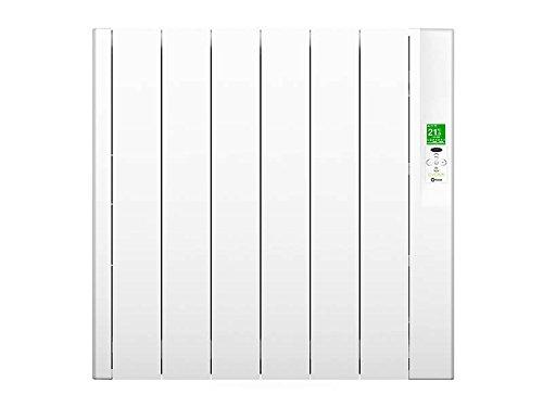 Rointe SRN0660RAD2 - Radiador eléctrico bajo consumo (RAL 9010, 660 W, 240 V) color blanco
