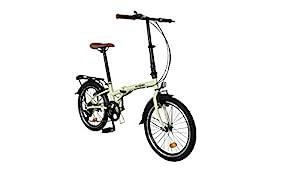 "ECOSMO 20"" Brand New Folding City Bicycle Bike 6SP - 20F01CR"
