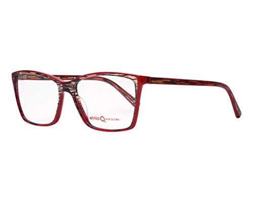 Etnia Barcelona Brille (MADEIRA RDGD) Acetate Kunststoff glänzend rot - kristall mix