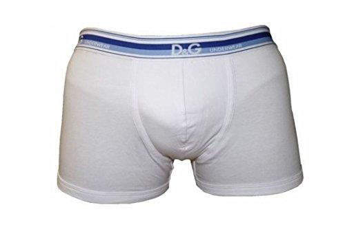 3er Pack Dolce & Gabana D&G Regular Boxer Shorts weiß Gr. M