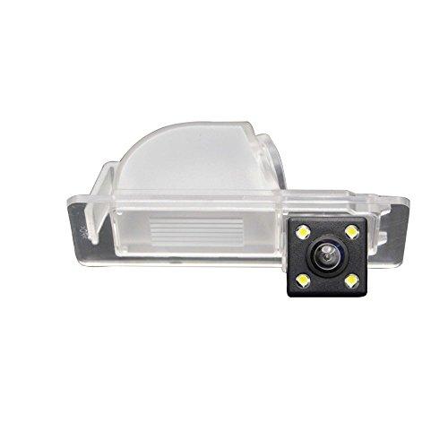 Greatek Caméra de Recul Voiture en Couleur Kit Caméra vue arrière de voiture Imperméable IP67 avec large Vision Nocturne pour New Santana/ Jetta /Rapid 2013-2016