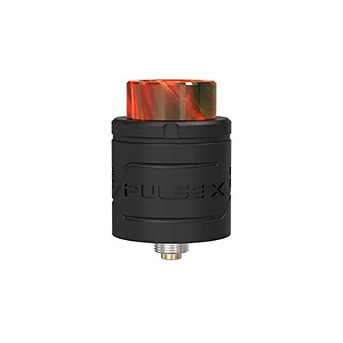 Authentische Vandyvape Pulse X BF RDA Rebuidable Dripping Atomizer 24.5mm Durchmesser Dual Coil Rebuild Tank (Matt Black)