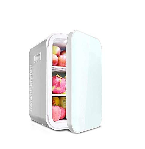 Gas-single Kühlschrank (TYUIO Mini Kühlschrank 22L tragbarer thermoelektrischer Kühler und wärmerer Minikühlschrank für Schlafzimmer, Büro oder Wohnheim (Weiß) (Color : Single core))