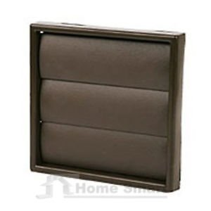 Griglia di Brown Square aria Vent dotto - Extractor Fan muro Outlet gravità Flap