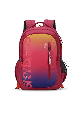 Skybags Figo Plus 02 34 Ltrs Gradient Pink Casual Backpack...