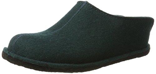 Pantofole Haflinger Unisex-adulto Smily Verde (verde Abete)