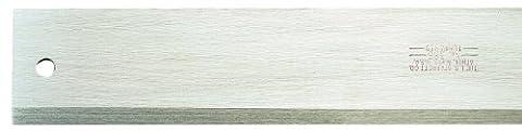 Starrett 386–48Idéal pour de Bord droit en acier avec bords biseautés, 121,9cm Longueur, 2–1/20,3cm Largeur, 3/81,3cm Épaisseur