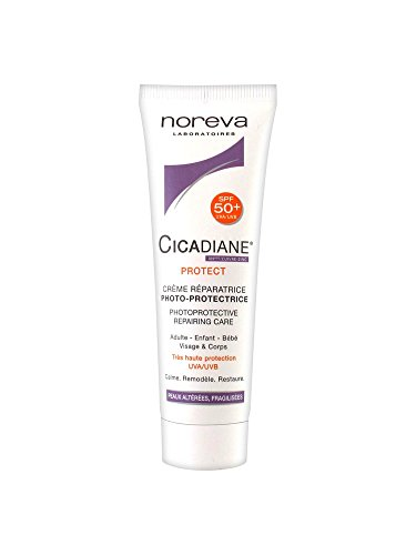 Noreva Cicadiane Protect Crème Réparatrice Photo-Protectrice SPF 50+ 40 ml