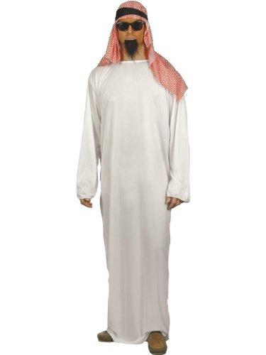 50er Jahre Ideen Party Kostüm (Kostüm Scheich Araber Araberkostüm Scheichkostüm Orient Gr. 48/50 (M), 52/54 (L),)