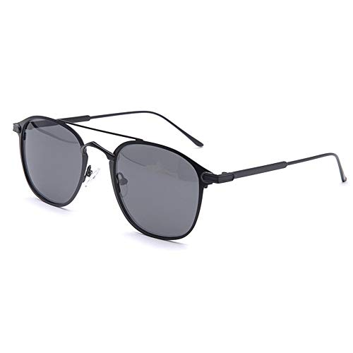 Frog Mirror Driving Anti-Glare-Sonnenbrille New Simple Double Beam Polarized Sonnenbrille Brille (Farbe : Gray)