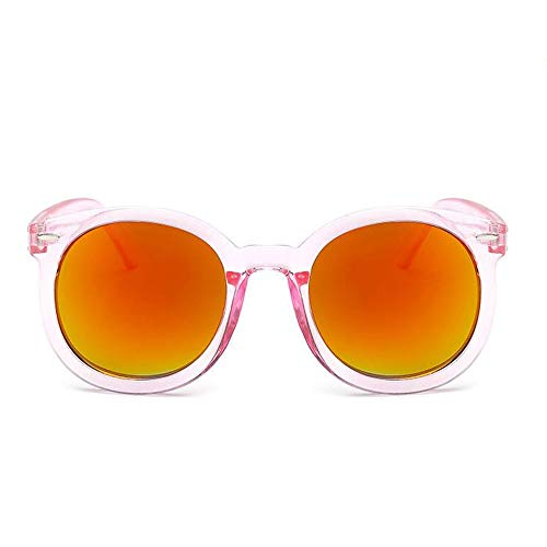 Szblk Outdoor-Sonnenbrillen Polarisierte Sonnenbrillen Kunststoff-Sonnenbrillen Männer und Frauen Sonnenbrillen Sport-Sonnenbrillen Driving Sonnenbrillen Retro Fashion Big Box (Color : Yellow)
