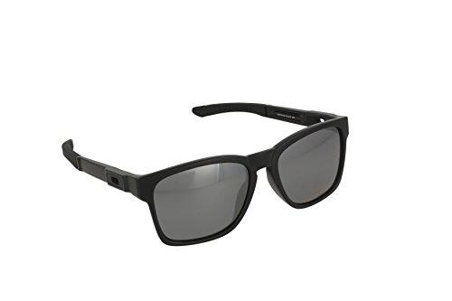 Oakley Herren Sonnenbrille Catalyst Braun (Matte Black), 56