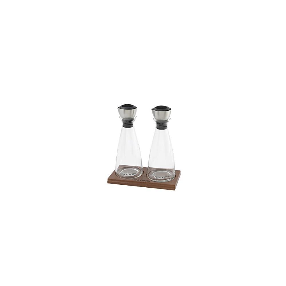 Cole Mason H103588 Flow Select L Und Essig Ausgieer Geschenkset 200 Mm Glas Edelstahl