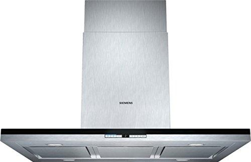 Siemens LF91BB552 iQ700 Inselhaube / 90,0 cm / Die Lüfterleistung von 710 m3/h sorgt für frische Luft beim Kochen / Edelstahl