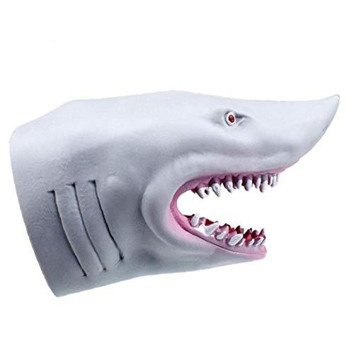 Simulación Tiburón Marionetas De Mano Del Dedo Guantes