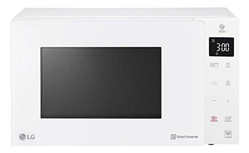 LG Kitchen MH7235GPH.BWHQEUS Forno Microonde Inverter, 1500 Watt, 32 Litri, Bianco