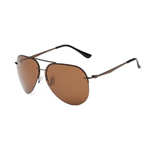 O-C Damen Sonnenbrille Braun Brown frame,brown lens