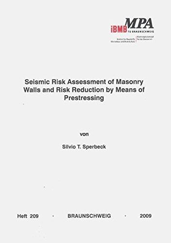 Seismic Ris Assessment of Masonry Walls and Risk Reduction by Means of Prestressing (Institut für Baustoffe, Massivbau und Brandschutz der Technischen Universität Braunschweig)