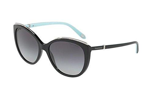 Tiffany & Co. Damen 0TY4134B 80013C 56 Sonnenbrille, Schwarz (Black/Gradient),