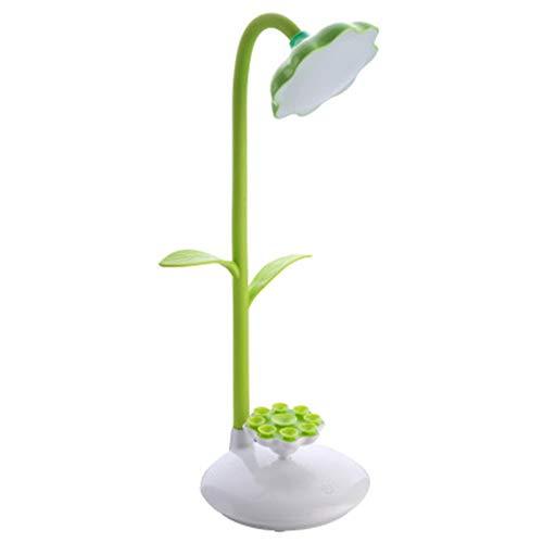 Led Schreibtischlampe, Cartoon Sun Flower Lesebuch Licht Für Kind Geschenk, Energiesparende Lesetisch Lampe, Handyhalter Für Studie Schlafzimmer Büro Weihnachtsgeschenk Etc.