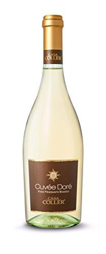 Casa coller cuvee dore, vino bianco frizzante - 6 bottiglie da 750 ml