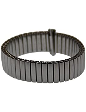 Rowi FixoflexS Zugband 14mm Uhrenarmband Edelstahl Flex Armband Uhr Band 382949