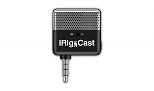 iRig Mic Cast Ultra-compact microphone for iOS & Android devices -