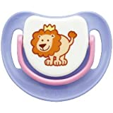 SILICONE PACIFIER STEP 1, LION
