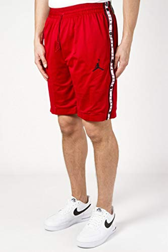 Jordan Bermudas Air Tear-Away Rojo XL X-Large