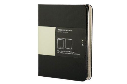 Preisvergleich Produktbild Tablet-Cover für iPad + Volant-Notizblock, schwarz