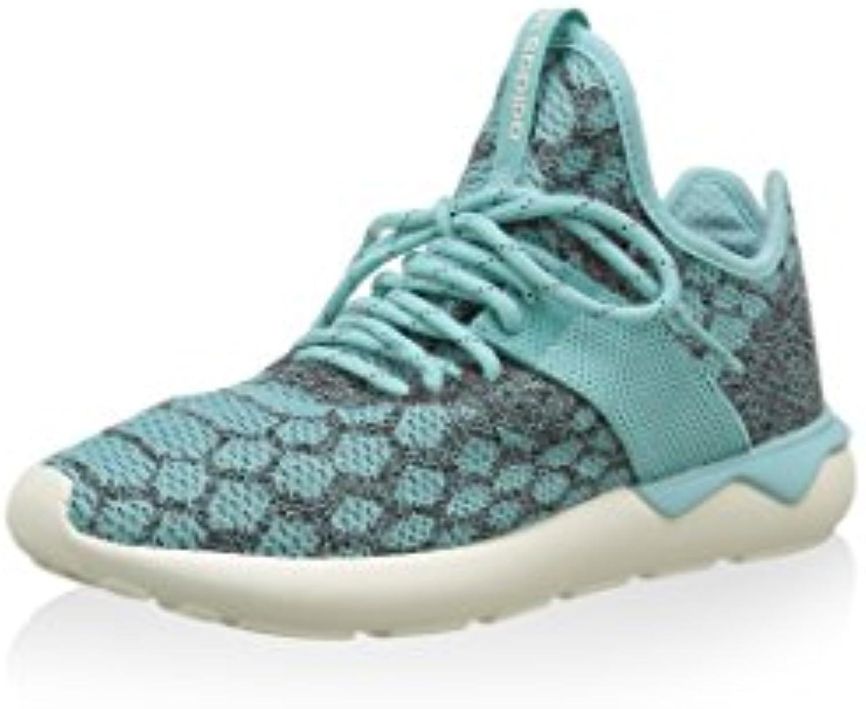 Adidas Originals TUBULAR RUNNER PRIMEKNIT Zapatillas Sneakers Gris Azul para Unisex