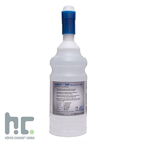 Preisvergleich Produktbild 4 x 1,89 L Flasche KRUSE Automotive AdBlue® – hochreine Harnstofflösung