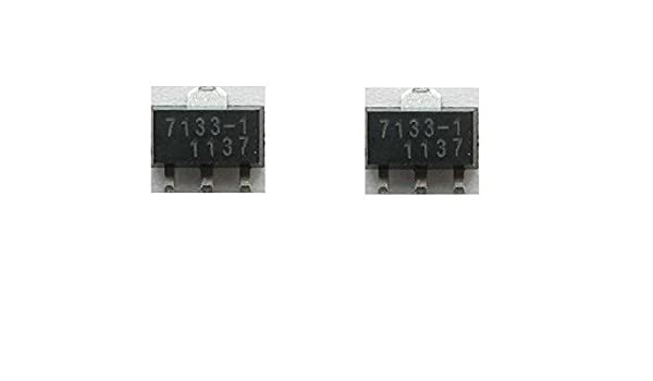 50pcs SMD HT7133A-1 SOT-89 HT7133 7133-1 Voltage Regulator