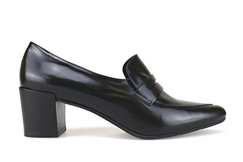 JEANNOT AJ106 classiche donna 41 EU nero pelle