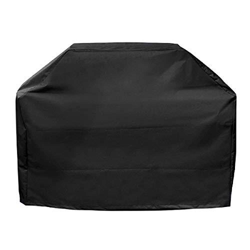 TRIWONDER Grill Abdeckhaube, wasserdichte und UV-Schutz, BBQ Grillabdeckung, BBQ Cover Schutzhuelle Haube mit Tragetasche (170cm x 61cm x 117cm)