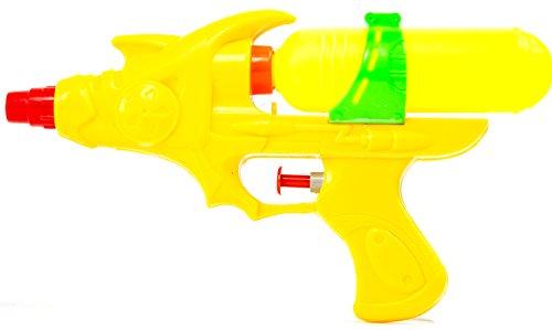 Nick and Ben Kinder-Wasser-Pistole Wasser-Pistole Pool-Kanone Mega Wasser-Gewehr Wasser-Spielzeug Wasser-Spritz-Pistole Wasser-Spritze Kunststoff 22cm