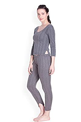 Lux Inferno Women's Plain/Solid Thermal Set