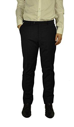 Michaelax-Fashion-Trade -  Pantaloni da abito  - Straight  - Basic - Uomo Schwarz(99)