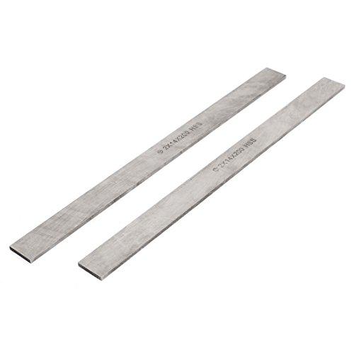 2 Pcs 2mmx14mmx200mm HSS Tool Cutoff Bit Cutter Boring Bar for Lathes - Boring Bar Bit-tool