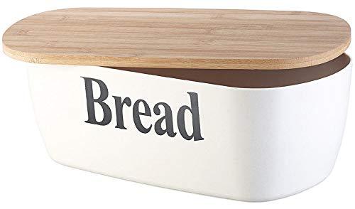 Rosenstein & Söhne Boîte à Pain Bread avec Planche à découper en Bambou
