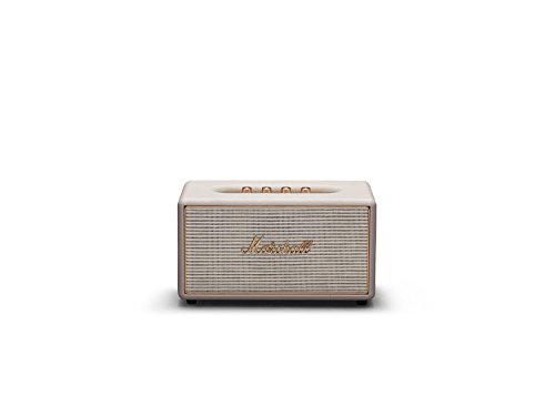 Marshall Stanmore Multi-Room Altavoz 50 W Crema de Color - Altavoces (Inalámbrico y alámbrico, RCA / 3.5mm, 50 W, 50-20000 Hz, Crema de Color)