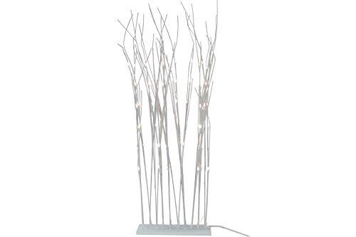DESIGN DECORATION LED Lichter- Zweige 120 cm mit 60 LEDs weiß innen und außen -