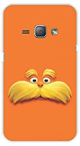 Crazy Beta 3D DESIGNPrinted Back Cover For Samsung Galaxy J1 2016