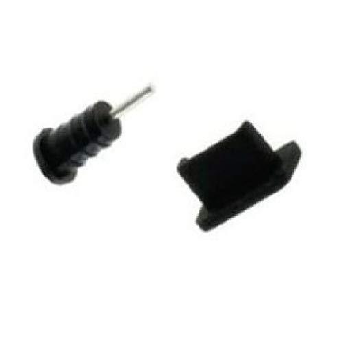 Supercase24 Staubschutz Stöpsel Kappen Set für Sharp Aquos S3 Mini Handy für USB und Kopfhöreranschluss