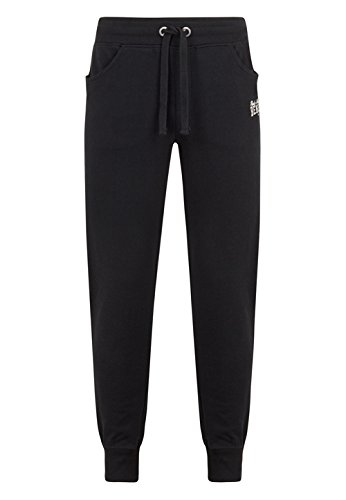 BENLEE Rocky Marciano Herren Men Slim Fit Jogging Pants Alliston, Schwarz, L, 190112 Joe Boxer-hosen