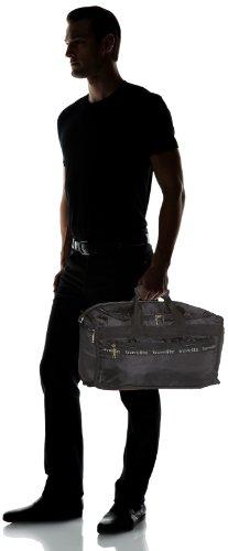 Travelite Falt-Reisetasche MiniMax S, 000563-01 , schwarz, 46x25x23 cm, 24 Liter Schwarz