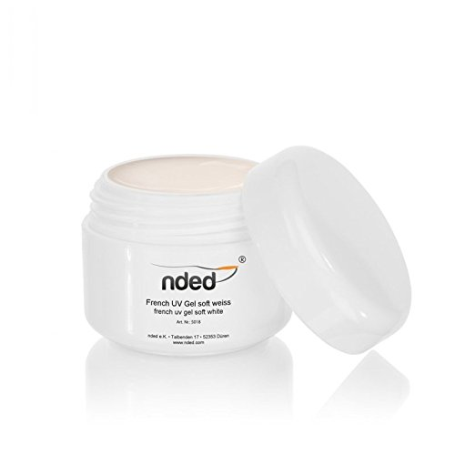Nded - Gel Uv French Blanc Doux 15Ml